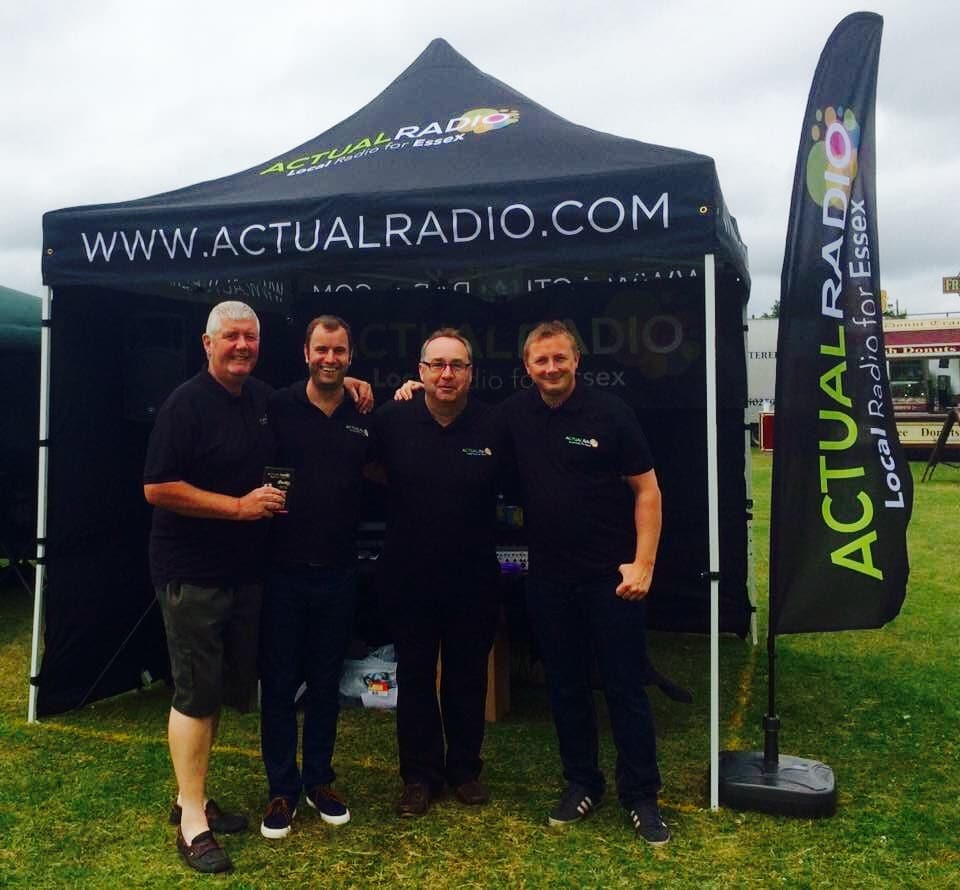 Actual Radio Essex Roadshow Team