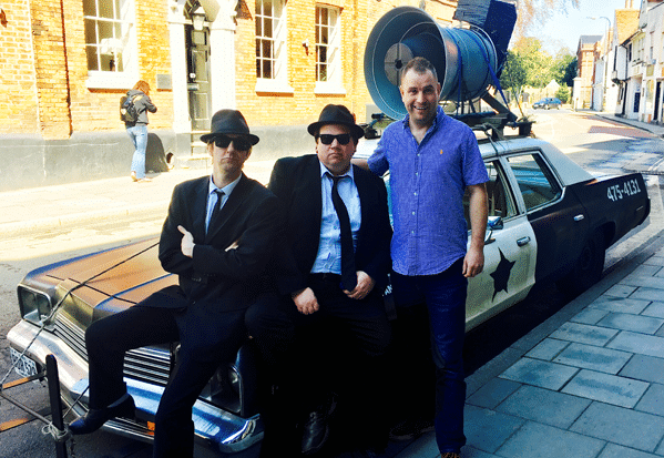 The blueprint blues brothers visit pete chapman on the breakfast the blueprint blues brothers visit pete chapman on the breakfast show actual radio malvernweather Images